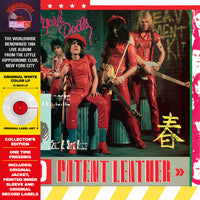 RED PATENT LEATHER (WHITE VINYL) by NEW YORK DOLLS Vinyl LP