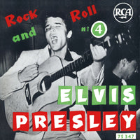 "ROCK AND ROLL NO. 4  by ELVIS PRESLEY  Vinyl 7"" black"
