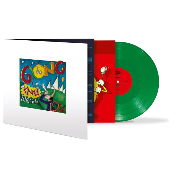 LIVE! AT SHEFFIELD 1974 (GREEN VINYL) by GONG Vinyl Double Album