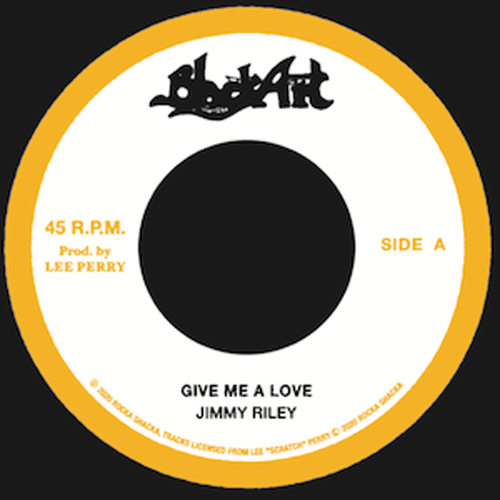 "Jimmy Riley - Give Me A Love / The Upsetters - Dub 7"" RSUP7003   pre order"