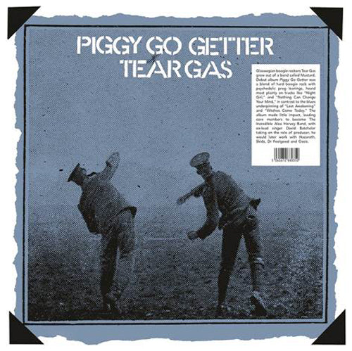 Tear Gas - Piggy Go Getter vinyl lp reissue TDP54035   pre order