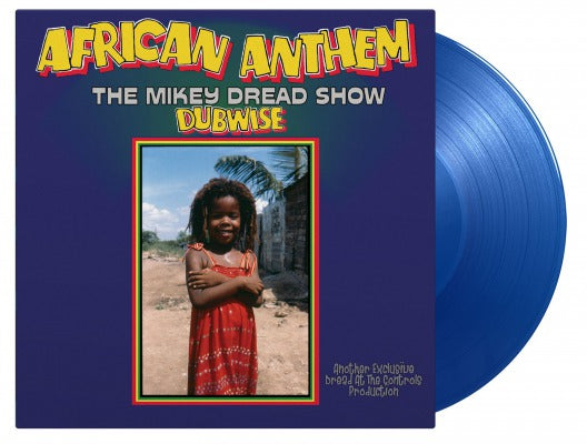 MIKEY DREAD AFRICAN ANTHEM DUBWISE (THE MIKEY DREAD SHOW) 1 x vinyl lp blue ltd
