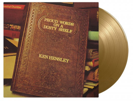 PROUD WORDS ON A DUSTY SHELF (COLOURED) by KEN HENSLEY Vinyl LP MOVLP2744C