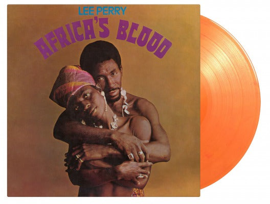 AFRICA'S BLOOD (COLOURED) by LEE PERRY Vinyl LP  MOVLP2720C