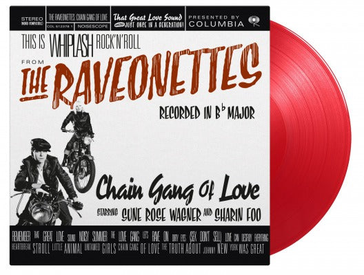 CHAIN GANG OF LOVE (COLOURED) by RAVEONETTES Vinyl LP  MOVLP069C