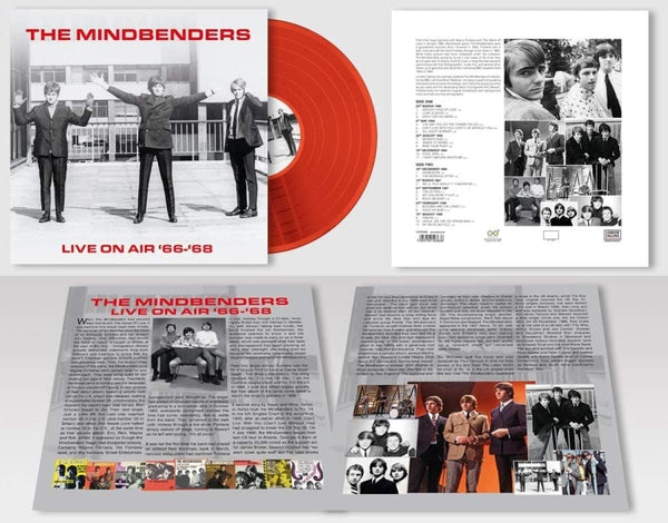 LIVE ON AIR '66 - '68 (LIMITED RED VINYL)  by MINDBENDERS, THE  Vinyl LP  LCLPC5036