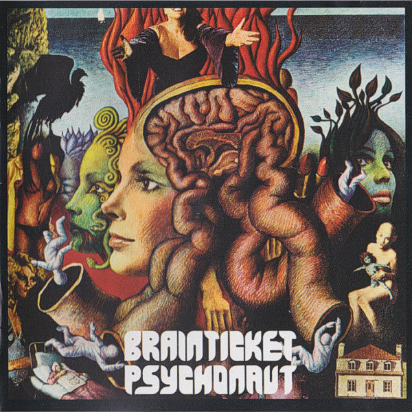 BRAINTICKET – Psychonaut  Clear Vinyl lp  LR312C