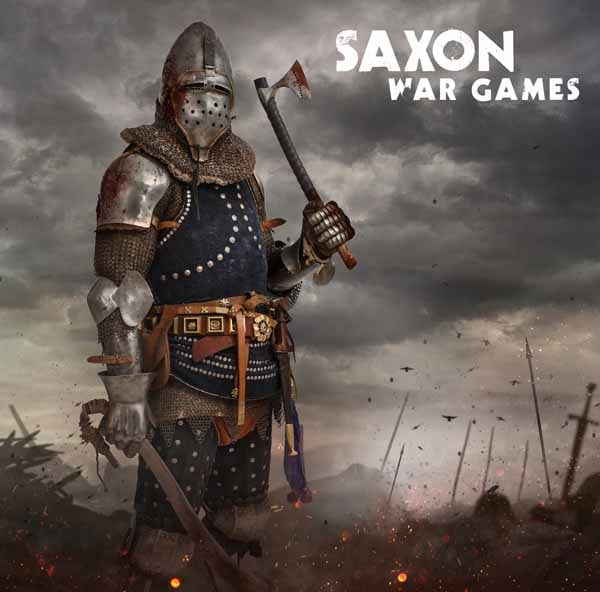 WAR GAMES by SAXON Vinyl LP  789 ltd red