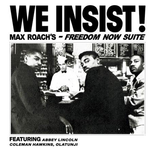 "MAX ROACH ""We Insist! Max Roach's Freedom Now Suite"" clear vinyl lp reissue ltd / 300"