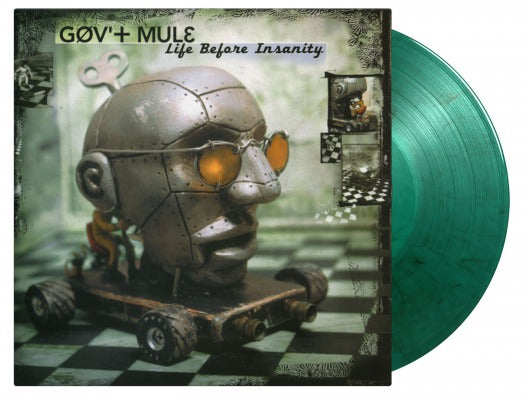 LIFE BEFORE INSANITY (2LP COLOURED) by GOV'T MULE Vinyl Double Album MOVLP706C