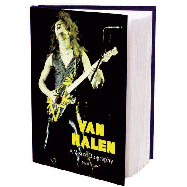 VAN HALEN - A VISUAL BIOGRAPHY (MARTIN POPOFF) by VAN HALEN Book