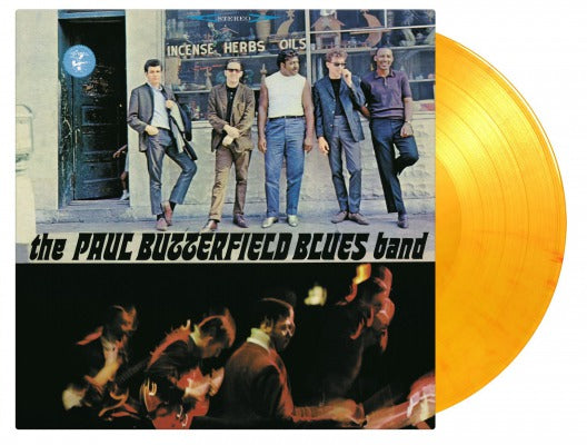 THE PAUL BUTTERFIELD BLUES BAND 1 x vinyl lp orange ltd / numbered MOVLP823