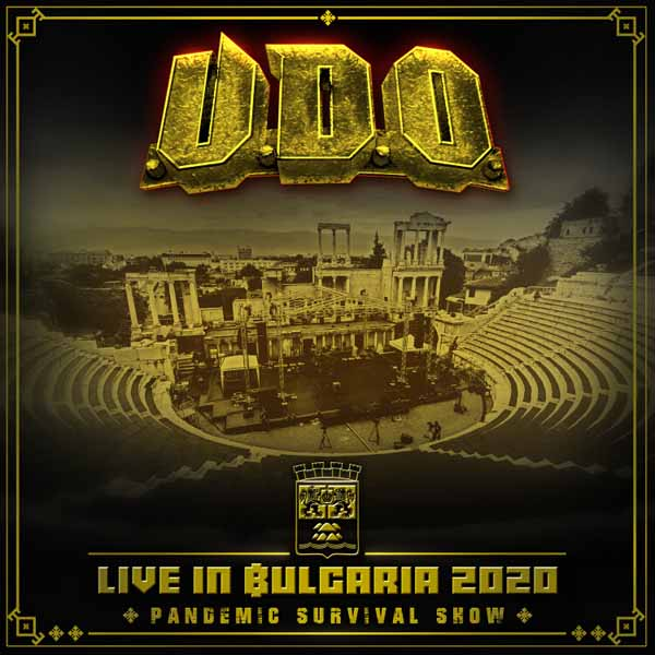 LIVE IN BULGARIA 2020 - PANDEMIC SURVIVAL SHOW (+DVD) by U.D.O. Compact Disc Double  AFM7897