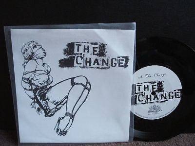"the change  the change  2003 usa punk 7""   ex ex"