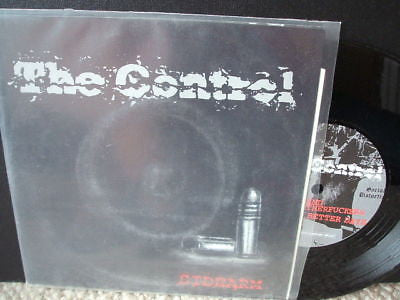 "the control sidearm 6 track netherlands  punk 7"" ex ex"
