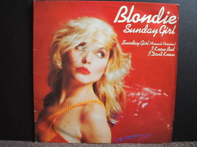 "blondie sunday girl 1979 uk  12"" single ex chs 12 2320"