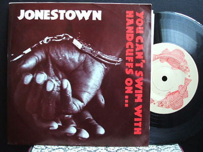 jonestown recall & screw crude 1991 usa cz records 7""
