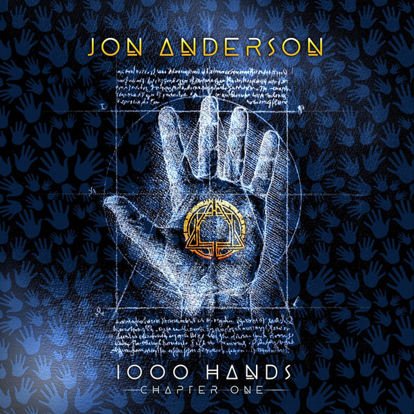 1000 HANDS (2LP)  by JON ANDERSON  Vinyl Double Album  BER1266LP