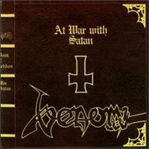 AT WAR WITH SATAN by VENOM Vinyl Double Album  BOBV199LP