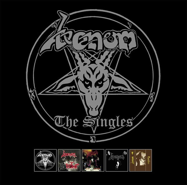 "THE SINGLES (5 DISC) by VENOM Vinyl 7""  BOBV5187BX"