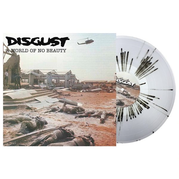 A WORLD OF NO BEAUTY + THROWN INTO OBLIVION by DISGUST Vinyl Double Album  BOBV665LPLTD