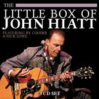 THE LITTLE BOX OF JOHN HIATT  by JOHN HIATT  Compact Disc - 3 CD Box Set  BSCD6107