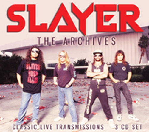 THE ARCHIVES (3CD) by SLAYER Compact Disc - 3 CD Box Set BSCD6130   pre order