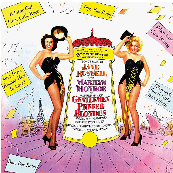 GENTLEMEN PREFER BLONDES (ORIGINAL SOUNDTRACK) MARILYN MONROE JANE RUSSEL cd