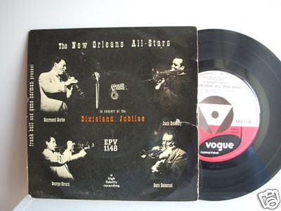 the new orleans allstars dixieland jubilee ep vogue ep