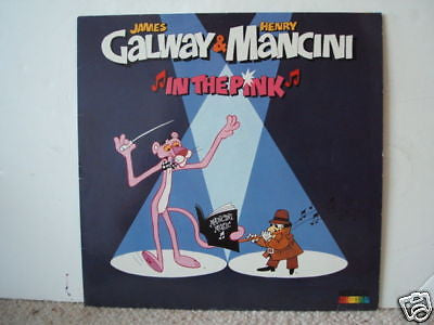 james galway henry mancini in the pink rca red seal lp