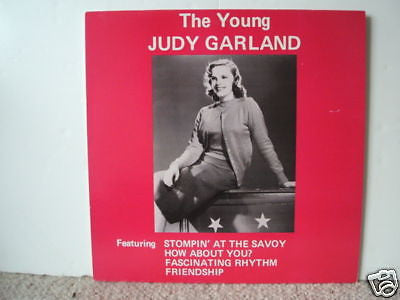 the young judy garland 1983 uk compilation lp near mint