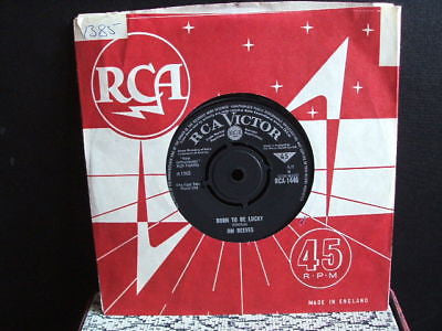 "jim reeves born to be lucky 1965 uk rca victor   7"" ex"