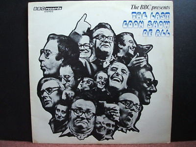 the last goon show of all  1972 uk bbc vinyl lp ex +