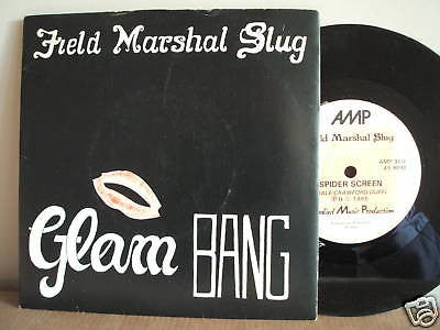 field marshall slug  glam bang  1985 uk  amp label 45  amp 369 ex