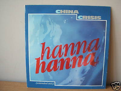 "china crisis hanna hanna 1984 uk virgin 12"" vs 655  ex"