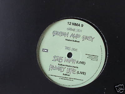 new model army  green & grey + 2 live tracks rare 12""