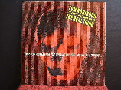 "tom robinson  the real thing  1986 uk 7"" single ex ex"