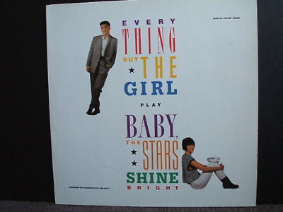 everything but the girl play baby the stars shine lp ex
