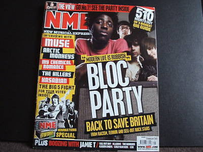 new musical express nme 3.2.2007 bloc party muse