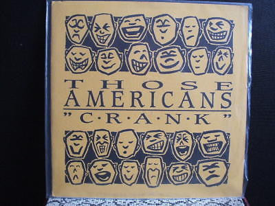 "those americans the right side 62/1000 usa 7"" ep ex+"