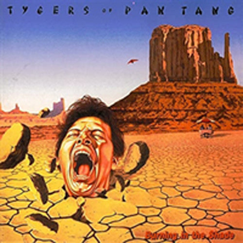BURNING IN THE SHADE (CRYSTAL CLEAR) by TYGERS OF PAN TANG Vinyl LP CG141217LP