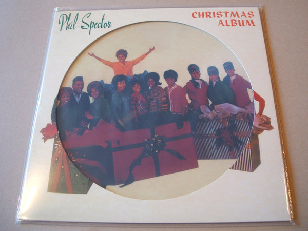 A Christmas Gift For You From Phil Spector.Various The Phil Spector Christmas Album A Christmas Gift For You Vinyl Picture Disc