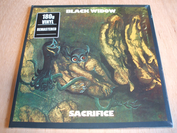 black widow ‎– Sacrifice Vinyl, LP, Album, Reissue, Remastered, 180 Gram