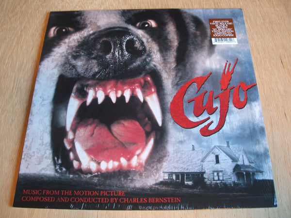 Charles Bernstein ‎– Cujo Vinyl, LP, Album, Limited Edition, Black & Brown
