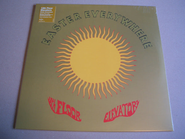 13th Floor Elevators - Easter Everywhere    ltd gold vinyl lp