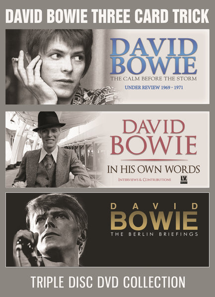 THREE CARD TRICK (3DVD)  by DAVID BOWIE  DVD  DVD3IS086