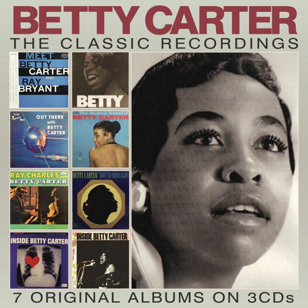 THE CLASSIC RECORDINGS (3CD) by BETTY CARTER Compact Disc - 3 CD Box Set  EN3CD9195