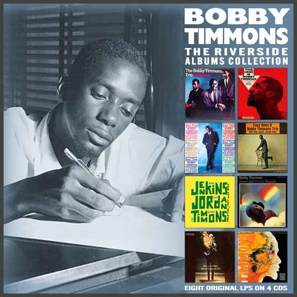 THE RIVERSIDE ALBUMS COLLECTION (4CD) by BOBBY TIMMONS Compact Disc - 4 CD Box Set  EN4CD9154