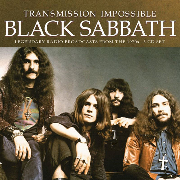 TRANSMISSION IMPOSSIBLE (3CD) by BLACK SABBATH Compact Disc - 3 CD Box Set