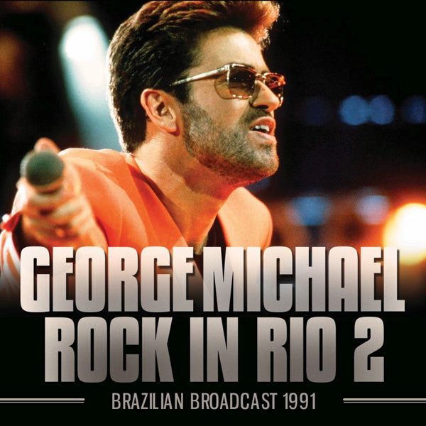 ROCK IN RIO 2 by GEORGE MICHAEL Compact Disc  GOSS044